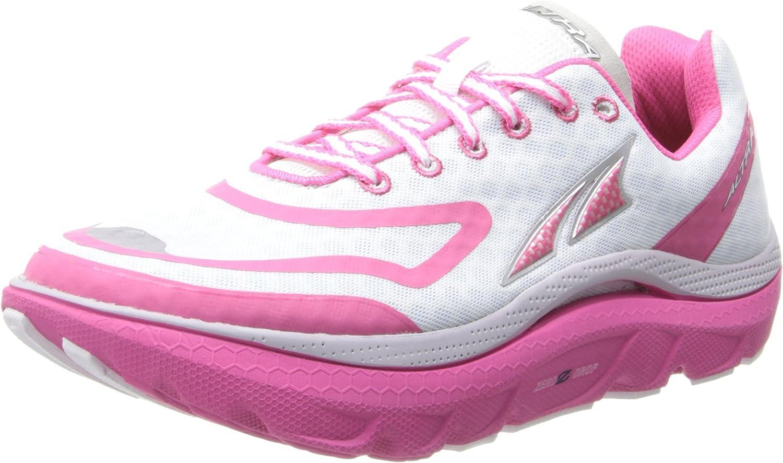 Altra A2435 Paradigma de la mujer Zapatillas de running, mujer, blanco/rosa, 7: Amazon.es: Deportes y aire libre