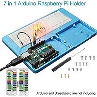 UNIROI Composants Électroniques Kit de Démarrage avec Potentiomètre de Précision, Buzzer, Condensateurs, pour Arduino UNO Mega 2560 Raspberry Pi UA031