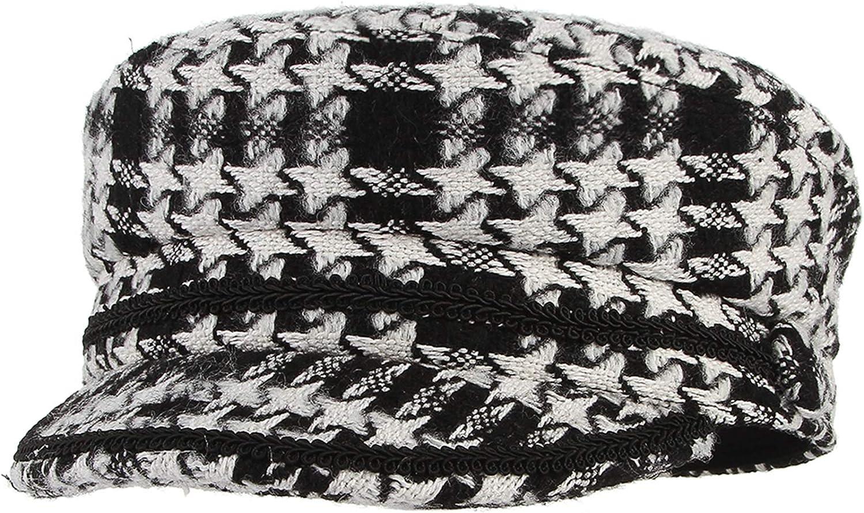 GEMVIE Women Wool Plaid...