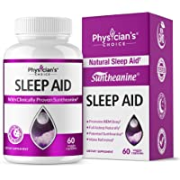 Physician's Choice Natural Sleep Aid Supplement with Valerian Root (Extra Strength)
