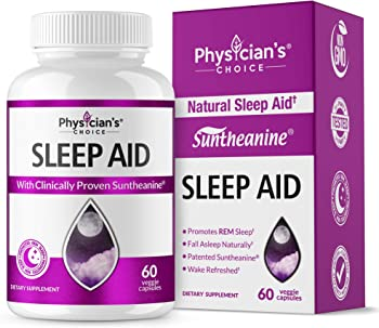 Physician's Choice Natural Sleep Aid Supplement (Extra Strength)