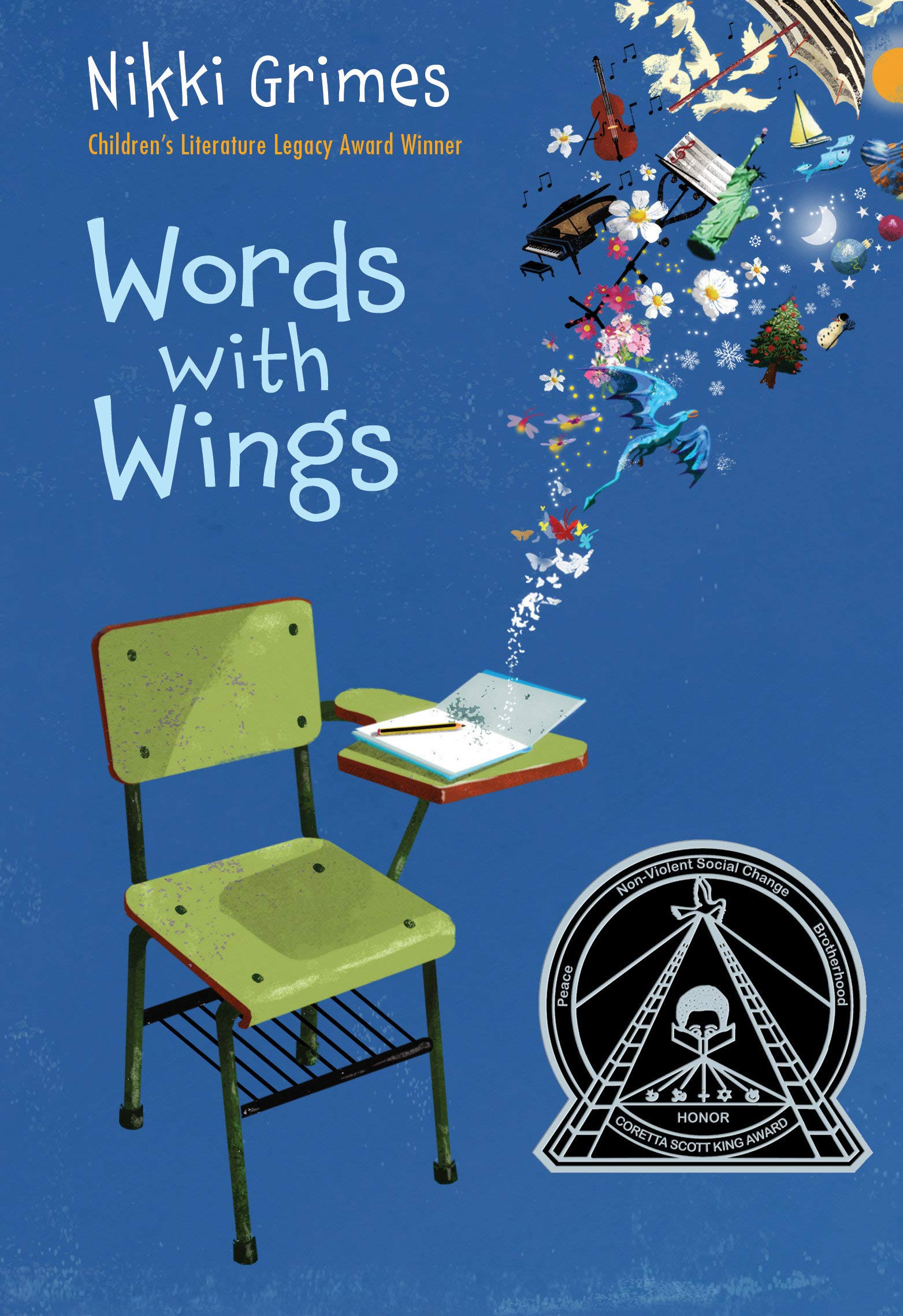 Words with Wings: Grimes, Nikki: 9781590789858: Amazon.com: Books