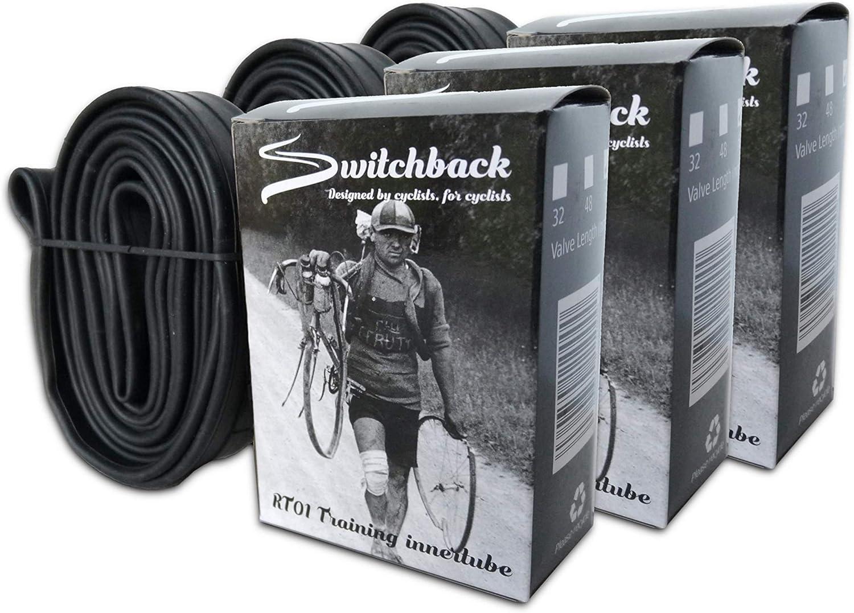 commuter and TT bikes Switchback 700c 25-32c 60mm Presta valve Inner Tube touring Premium rubber for road bike cyclocross