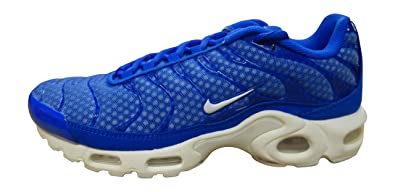 78aa0371977f7 Nike air max Plus TXT TN Tuned Mens Trainers 647315 Sneakers Shoes (US 7,  Racer Blue White 411)