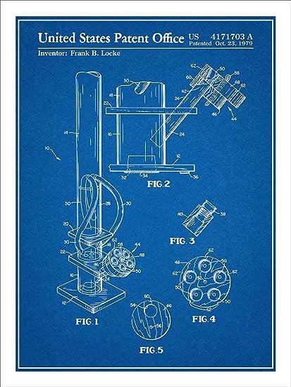 Amazoncom Smoking Device Water Pipe Bong Patent Print Art Poster