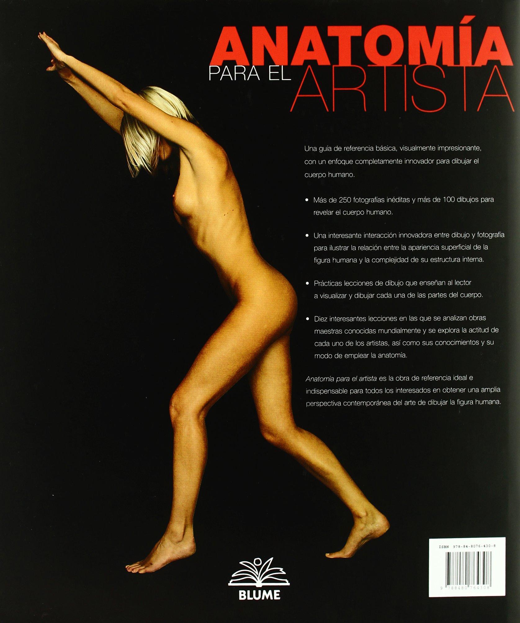 Anatomía para el artista: Amazon.es: Sarah Simblet: Libros