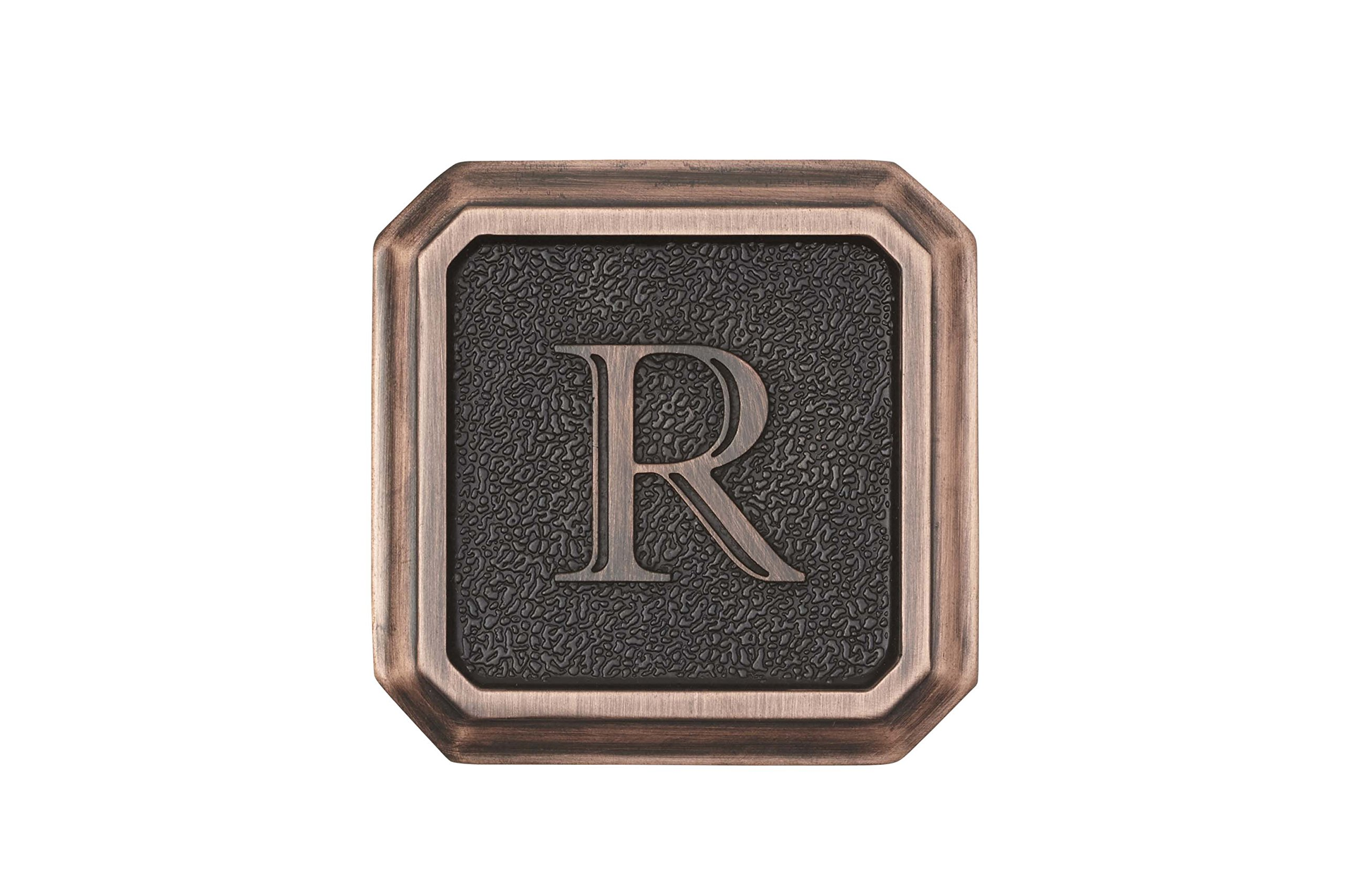 Architectural Mailboxes 3650ORB-R Aluminum Oil Rubbed Bronze Monogram - Letter ''R''