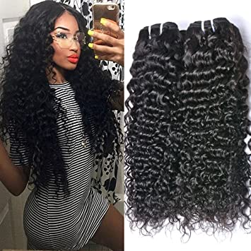 Amazon gem beauty indian hair 4 bundles curly hair gem beauty indian hair 4 bundles curly hair extensions unprocessed virgin human hair weave indian kinky pmusecretfo Choice Image