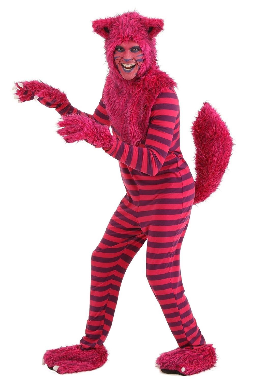 sc 1 st  Amazon.com & Amazon.com: Adult Deluxe Cheshire Cat Costume: Clothing