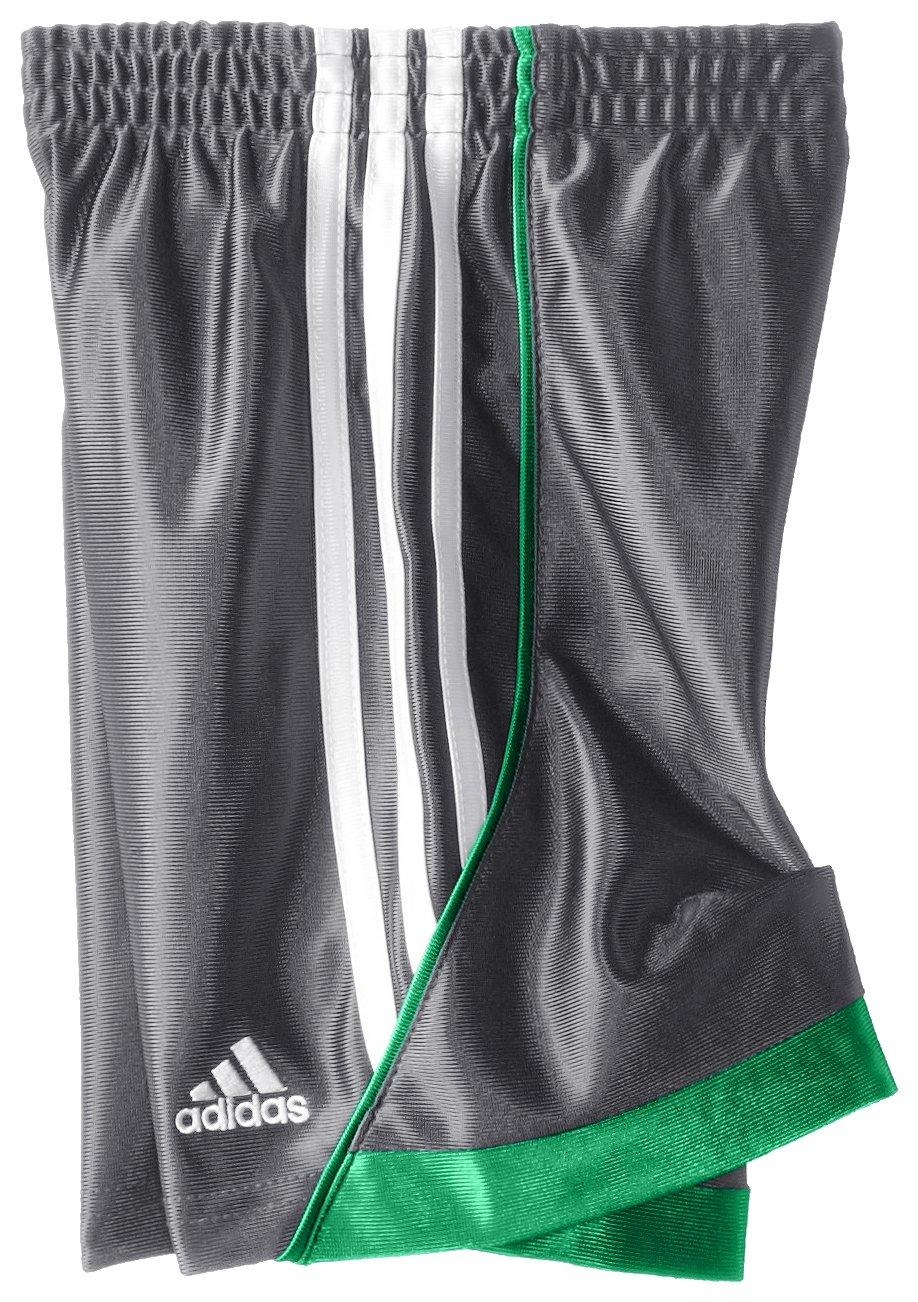 Adidas Little Boys' Speed Short, Dark Grey, 5 by adidas (Image #2)