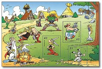 Asterix Obelix Briefmarken Block Deutsche Post Postfrisch