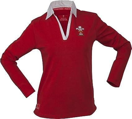 Gales Rugby Union Classic - Camiseta de Rugby de Manga Larga para ...