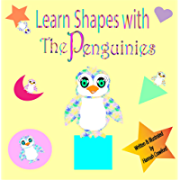 Learn Shapes With The Penguinies (English Edition)