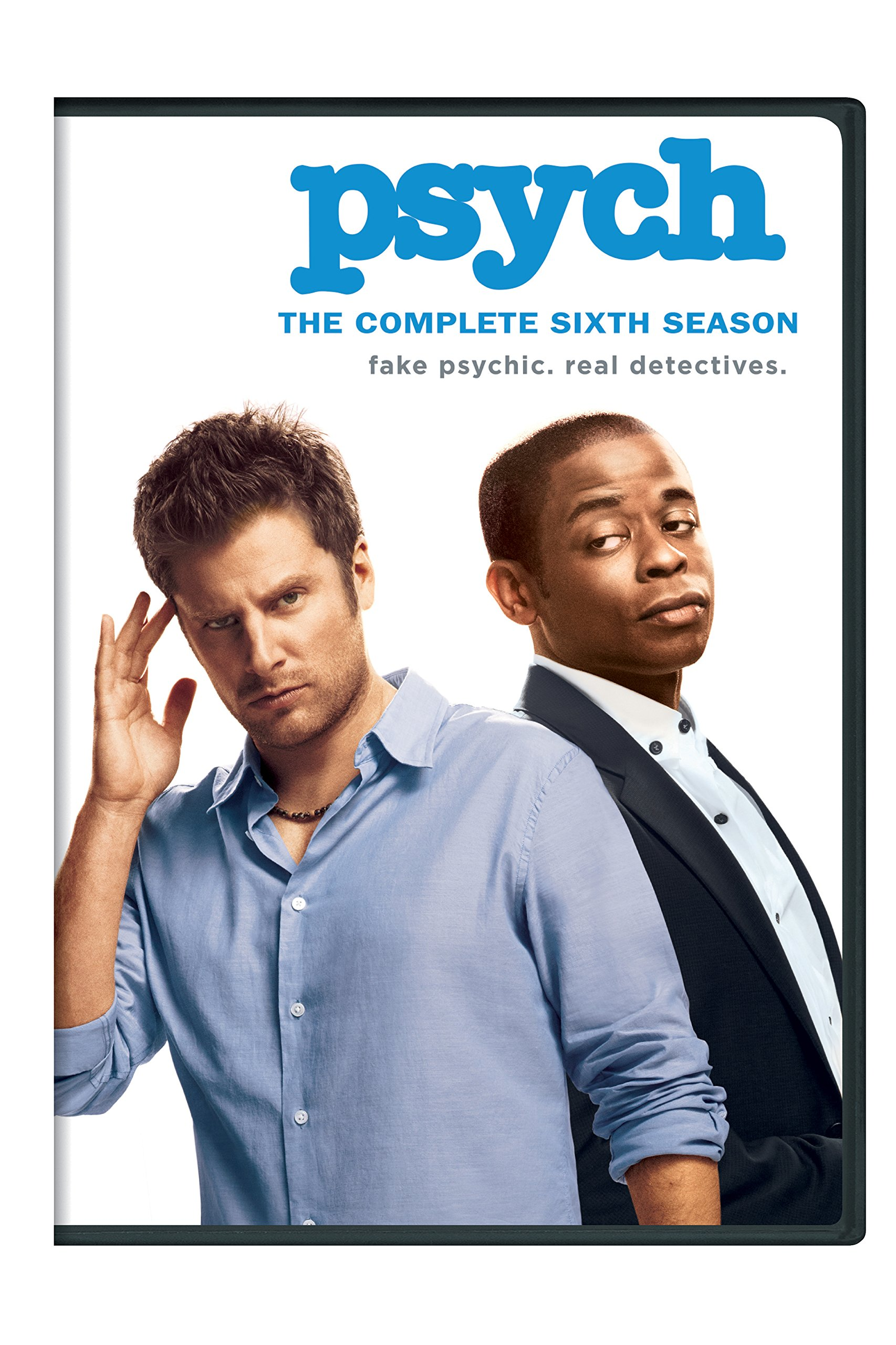 DVD : Psych: The Complete Sixth Season (Boxed Set, Snap Case, Repackaged, 4PC)