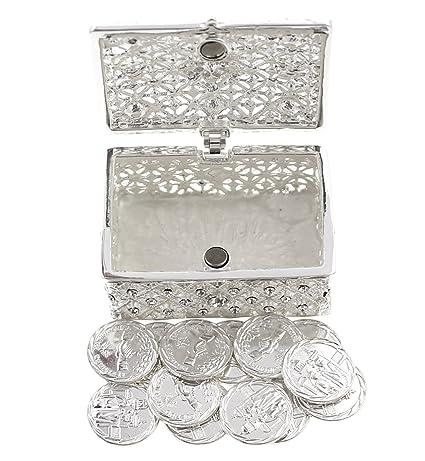 Amazon.com: Arras de Boda - Juego de monedas para boda (caja ...