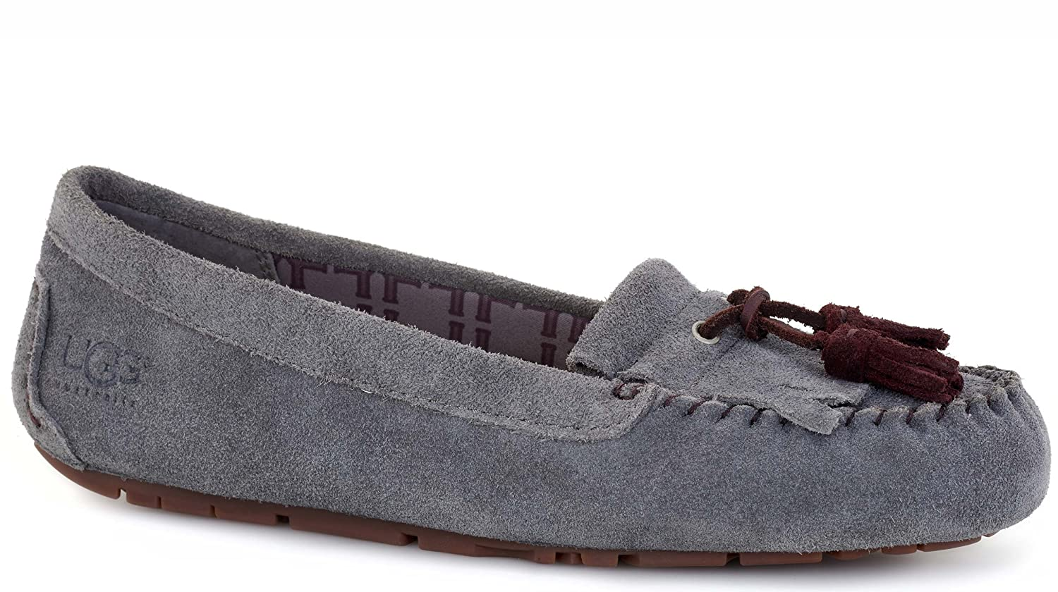 d18ae96d4cc UGG Womens Lizzy Moccasins in Granite 9 US: Amazon.co.uk: Shoes & Bags