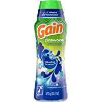 Gain Fireworks In-wash Scent Booster Beads, Blissful Breeze 570 Gram