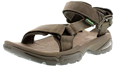 69eb11546c04 Teva Womens Terra Fi 4 Leather W s Sports   Outdoor Sandals Brown ...