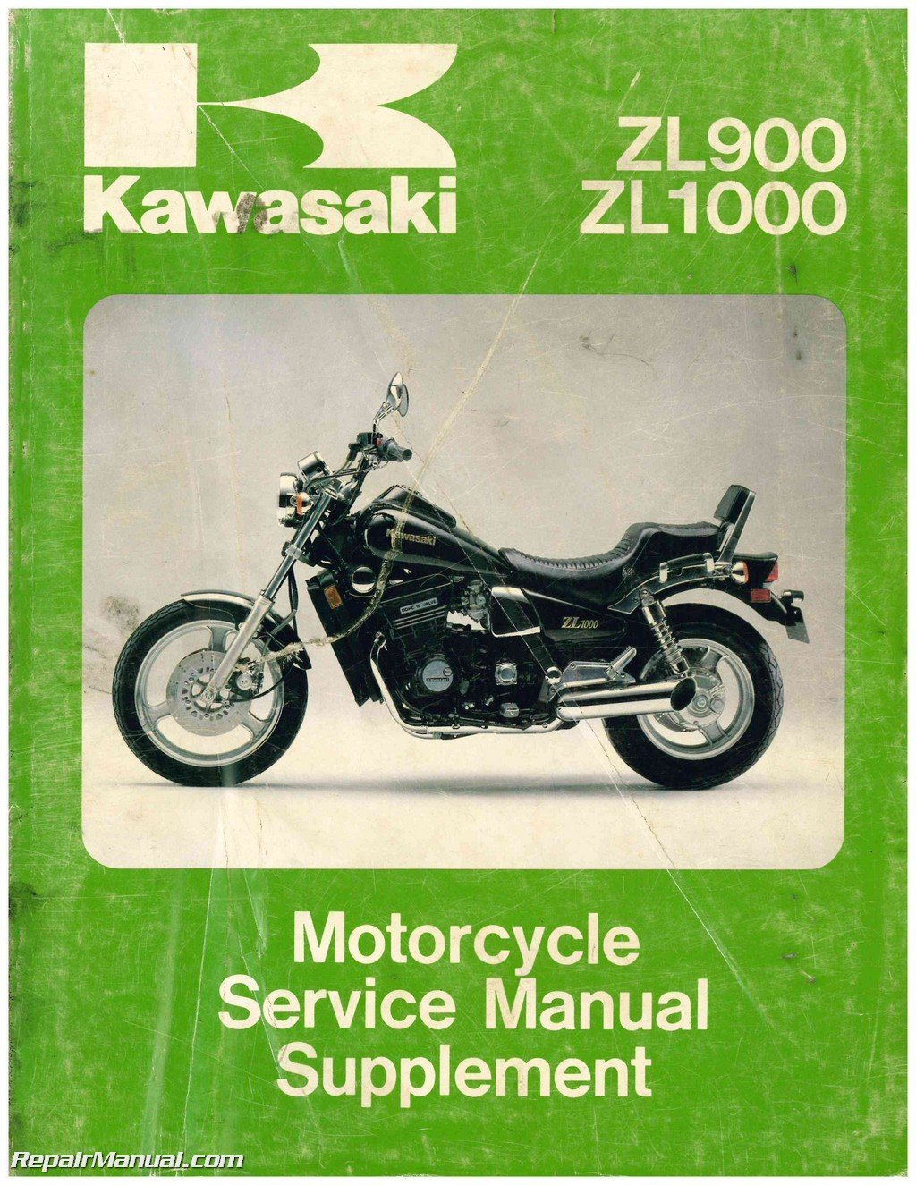 99924-1077-52 1985-1988 Kawasaki ZL900 ZL1000 Eliminator Motorcycle Service  Manual Supplement: Manufacturer: Amazon.com: Books