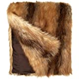 """Fabulous Furs: Faux Fur Luxury Throw Blanket, Red Fox, Available in generous sizes 60""""x60"""", 60""""x72"""" and 60""""x86"""", by Donna Salyers"""