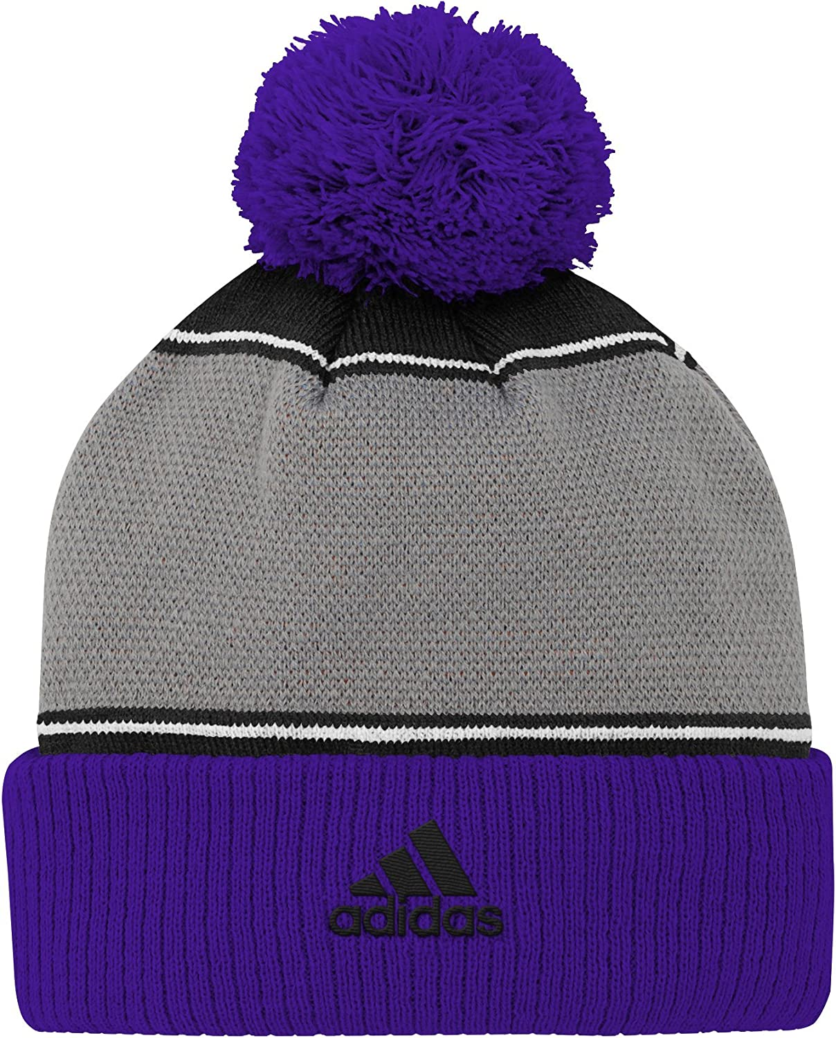 MLS Vancouver Whitecaps Youth Outerstuff Fan Cuffed Pom Hat Team Color Youth One Size
