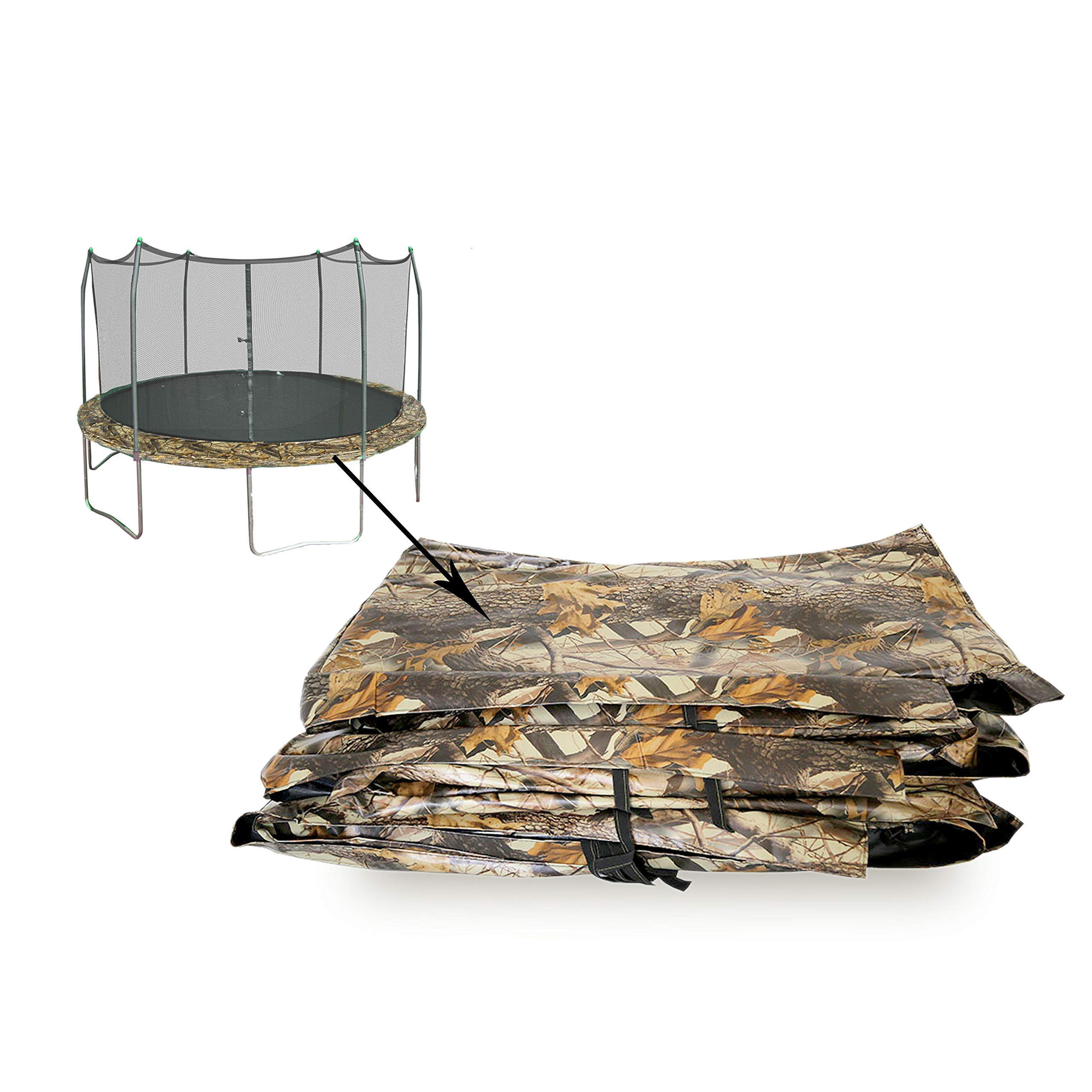 Skywalker Trampolines Camo 12' Round Spring Pad by Skywalker Trampolines (Image #2)