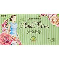 Alma de Flores Finissimas Essencias, Kit com 3 Sabonetes de 130gr