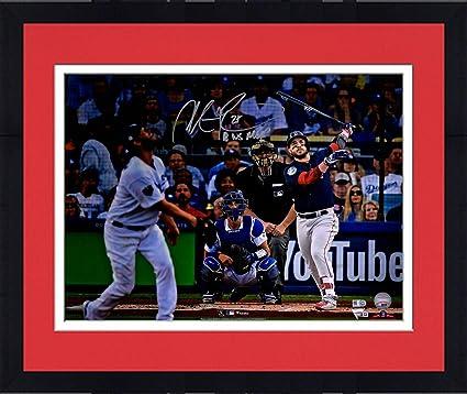 online store 4272c fc4ed Framed Steve Pearce Boston Red Sox 2018 MLB World Series MVP ...