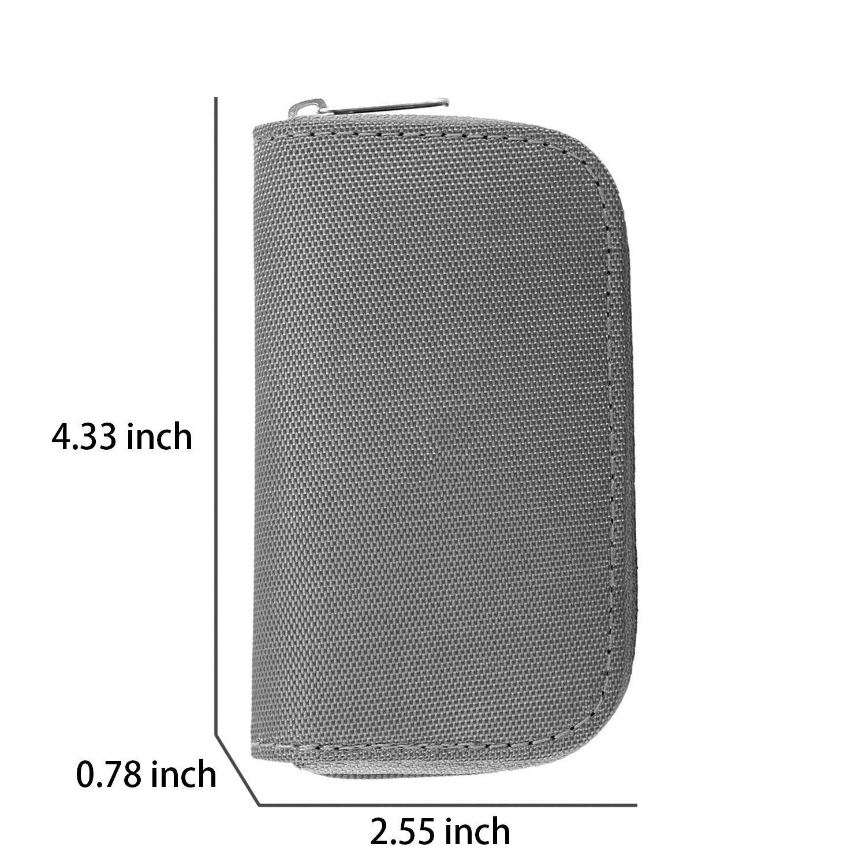 Mixtecc 8 Pages and 22 Slots Memory Card Holder Bag Wallet Bag for Media Storage Organization Suitable for SDHC and SD Cards Memory Card Carrying Case Pink