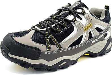 Praylas Zarzosa Gris - Deportivo de treking y Senderismo con Membrana Impermeable Unisex: Amazon.es: Zapatos y complementos
