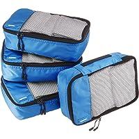 AmazonBasics Bolsas organizadoras de equipaje, 4 unidades pequeñas