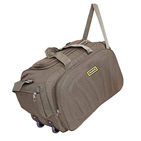 Nice Line (Expandable) Lightweight Waterproof Luggage Travel Duffel Bags  with Roller Wheels - Travel fedd50e391044