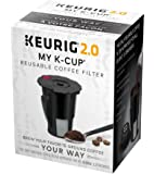 Keurig 119076 Keurig 2.0 My K-Cup, Small, Black (Old Model - Discontinued)