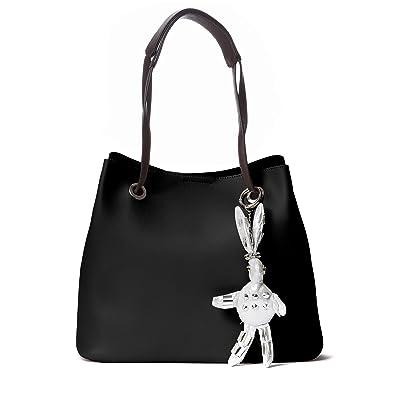 Amazon.com: Handbag Republic Designer Handbags Vegan Leather Large ...