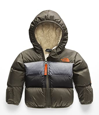 The North Face Infant Moondoggy 2.0 Down Jacket - New Taupe Green - 3M 3313f75bb