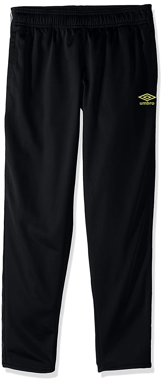Umbro Girls Double Diamondトラックパンツ B06XGFQSML Size 6X|ブラック/ホワイト ブラック/ホワイト Size 6X