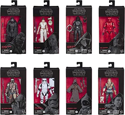"Plastic Protector Cases Star Wars Black Series 6/"" Figures 25 pack"