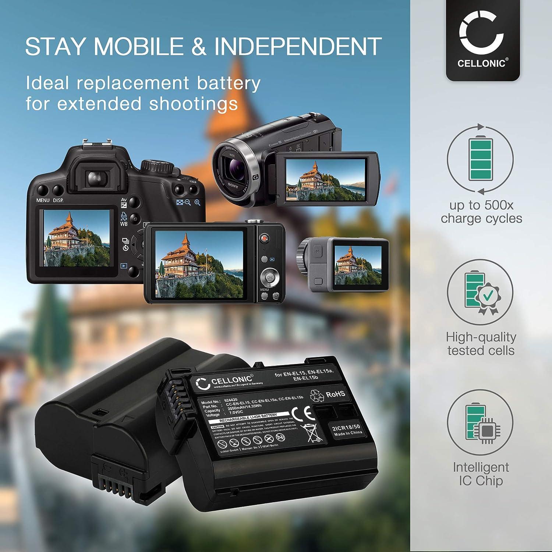 Cellonic Vm Ama Battery For Nikon En El15b En El15a Elektronik