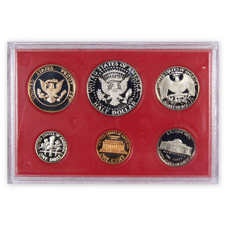 1982 Proof Set 5 Coin Set