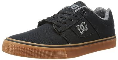 DC Men's Bridge TX Skate Shoe,Black/Gum,7 ...
