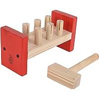 Skillofun Wooden Hammer Peg, Multi Color