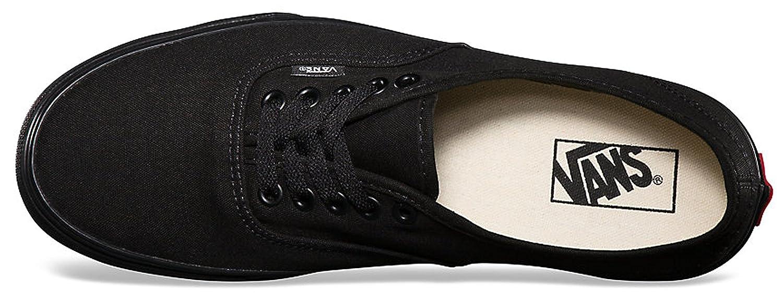 Vans Authentic Schwarz Schuhe Canvas Unisex Skate Sneaker Schuhe Schwarz - 619bdc