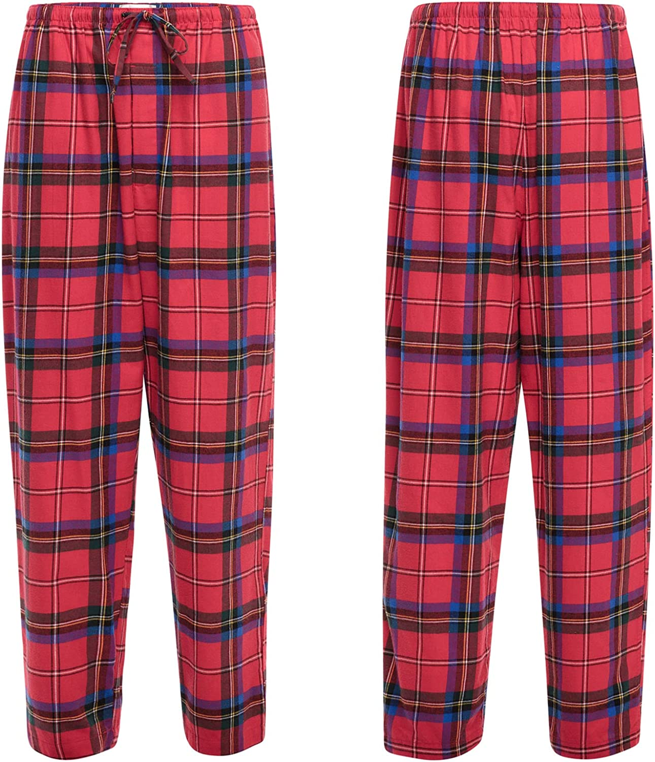 2X Christmas Camouflage Alexander Del Rossa Mens Warm Flannel Pajama Pants Long Cotton Pj Bottoms A0475N262X