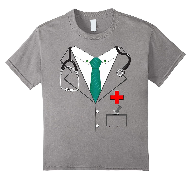 Doctor Jacket Halloween Costume T-shirt Men Women Youth