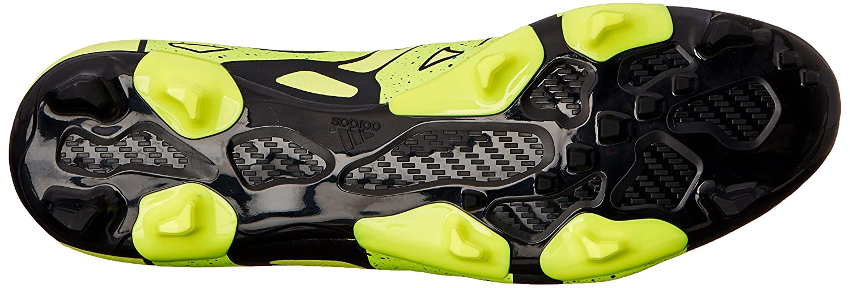 watch 345a0 0ba7a Adidas Performance X 15.2 Firm   artificielle Terrain de soccer à crampons,  noir   choc Mint   blan  Amazon.fr  Chaussures et Sacs