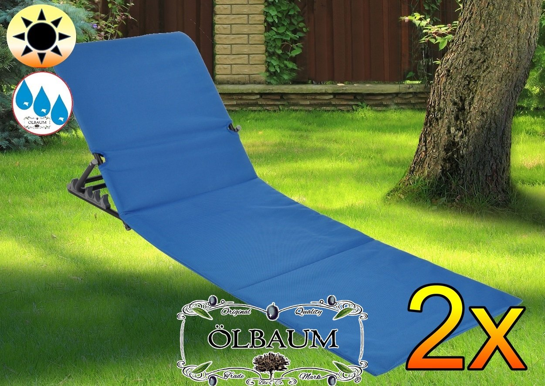 2 pieza - Tumbona, Premium Mendler, grande, cómodo y suave ...