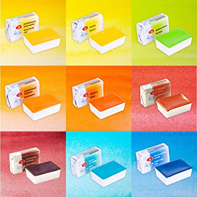 White Nights Watercolours - Set of 9 new colours for 2020: Toys & Games