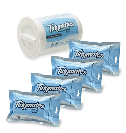 Review Tidymates 250 Unscented, Biodegradable,