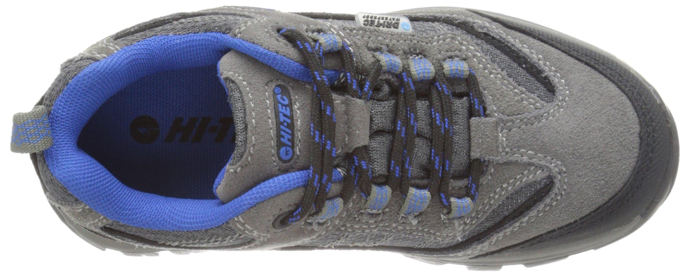 Hi-Tec Hillside Low WP Jr - K, Charcoal/Blue/Black, 6 M US Big Kid by Hi-Tec (Image #8)