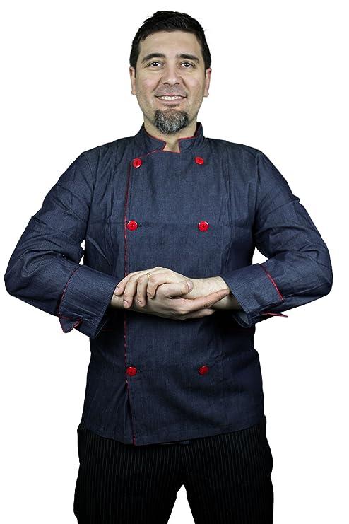 Smart jeans Giacca da cuoco a maniche lunghe 1c47e403934a